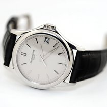Patek Philippe Calatrava White gold 37mm Silver United States of America, Florida, Aventura