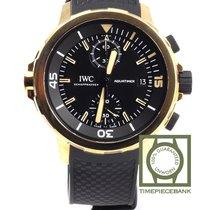 IWC Bronze Automático Preto 44mm novo Aquatimer Chronograph