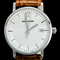 Montblanc Summit Steel 38mm Grey No numerals