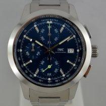 IWC Ingenieur Chronograph Aço 42mm Azul Sem números