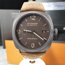 Panerai Radiomir Black Seal 3 Days Automatic tweedehands 45mm Bruin Datum Leer