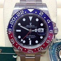 Rolex GMT-Master II White gold 40mm Black No numerals United Kingdom, Wilmslow