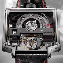 Hautlence new Automatic Display Back Luminescent Numerals Luminescent Hands Genevian Seal Chronometer Luminous indexes Master Chronometer 52mm Titanium Sapphire Glass