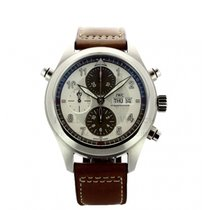 IWC Pilot Double Chronograph Steel 44mm Silver