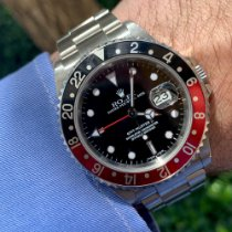 Rolex 16710 Steel 2002 GMT-Master II 40mm pre-owned United States of America, Florida, Coral Gables