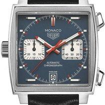 TAG Heuer Monaco Calibre 11 new Automatic Chronograph Watch with original box CAW211P-FC6356