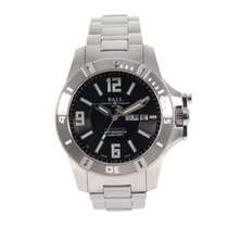 Ball Engineer Hydrocarbon Spacemaster pre-owned 44mm Black Steel