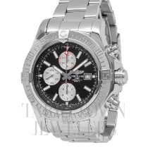 Breitling Super Avenger II Steel 44mm Black United States of America, New York, Hartsdale