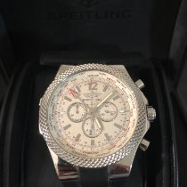 Breitling Bentley GMT Acero 49mm Negro Sin cifras