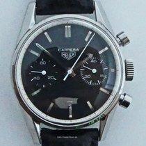 Heuer 3647N Steel 1963 36mm pre-owned