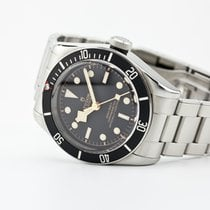 Tudor Black Bay pre-owned 41mm Black Steel