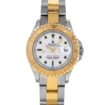 Rolex Yacht-Master Gold/Steel 29mm White No numerals United States of America, Maryland, Baltimore, MD