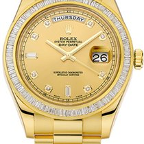 Rolex Day-Date II Yellow gold 41mm Black Roman numerals United Kingdom, London