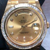 Rolex Day-Date II Yellow gold 41mm Black Roman numerals United Kingdom, London