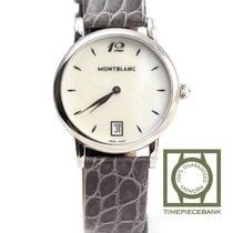 Montblanc Star Classique Steel 34mm Mother of pearl