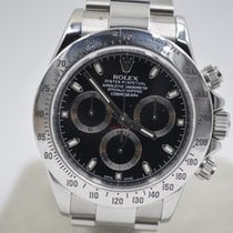 Rolex Daytona Steel 40mm Black No numerals United Kingdom, Hertfordshire