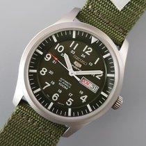 Seiko 5 Sports Steel 42mm Green Arabic numerals