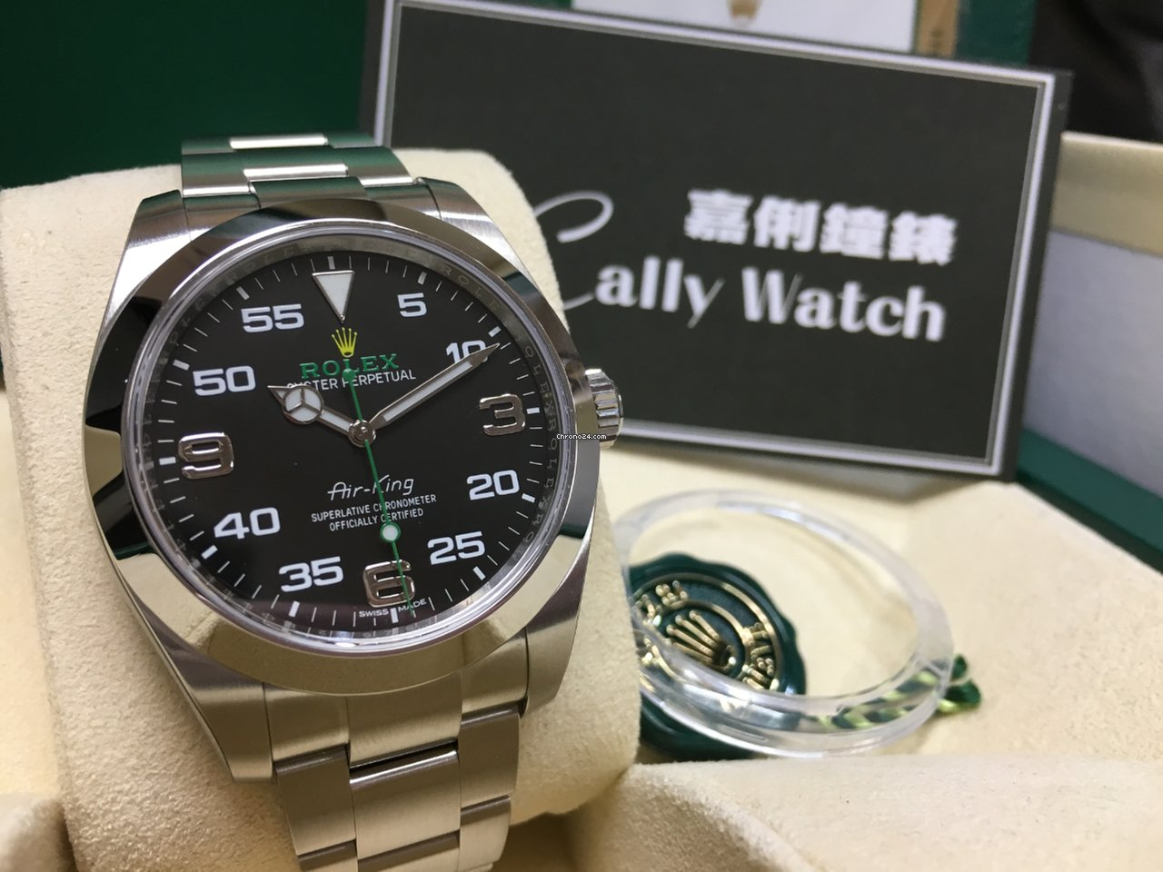 cheap for discount 6eb19 0998f Rolex Cally - Air-King 116900 39mm [NEW]