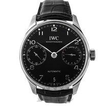 IWC Portugieser Automatik neu Automatik Uhr mit Original-Box und Original-Papieren IW500703