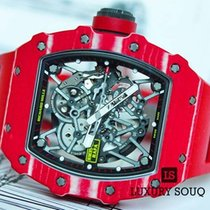Richard Mille Special Edition Rafael Nadal in Red NTPT Carbon