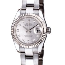 Rolex Datejust 26 mm Pearl Dial Diamond Index White Gold