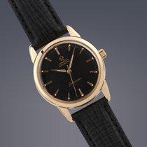 Omega Seamaster 18ct yellow gold automatic watch