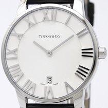 Tiffany Atlas Dome Steel Quartz Mens Watch Z1800.11.10a21a52a...