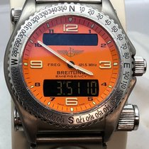 Breitling Emergency Titanium 43mm Arabic numerals United States of America, New York, New York City