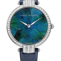 Harry Winston Premier White gold 36mm Blue