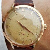 Omega Automatic Vintage Oversize 18K Gold + Box