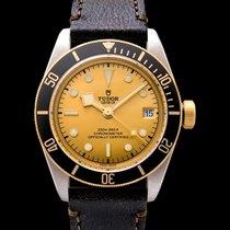 Tudor Heritage Black Bay S&G Champagne Steel/Leather 41mm -...
