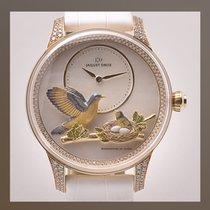 Jaquet-Droz Les Ateliers D' Art Oro rosa 41mm Blanco Sin cifras