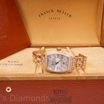 Franck Muller Conquistador King 18K Rose Gold 12.3ctw Diamond...