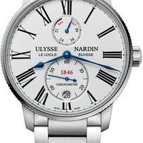 Ulysse Nardin Marine Torpilleur 1183-310-7M/40 - ULYSSE NARDIN MARINE TORPILLEUR ACCIAIO новые