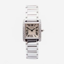 Cartier Tank Française WE1002S3 2000 pre-owned