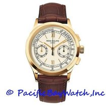 Patek Philippe Chronograph Yellow gold 39mm White United States of America, California, Newport Beach