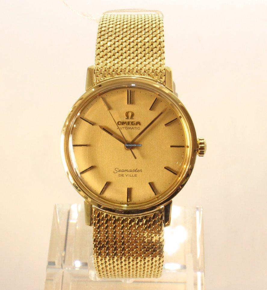 ccf603d3b20 Omega Seamaster Ouro amarelo - Todos os preços de relógios Omega Seamaster  Ouro amarelo na Chrono24