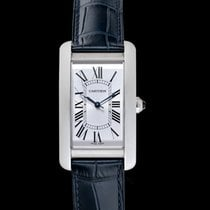 Cartier Tank Américaine new Quartz Watch with original box and original papers WSTA0016