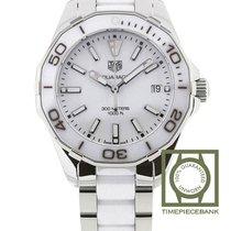 TAG Heuer Aquaracer Lady Acier 35mm Blanc