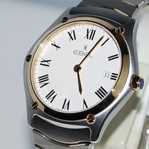 Ebel Sport Gold/Steel 40mm White Roman numerals