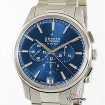 Zenith Captain Chronograph Steel 42mm Blue
