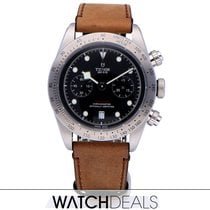 Tudor Black Bay Chrono Steel 41mm Black No numerals