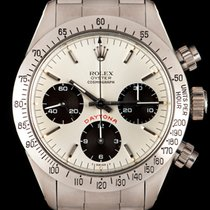 Rolex Daytona Steel 37mm Silver No numerals