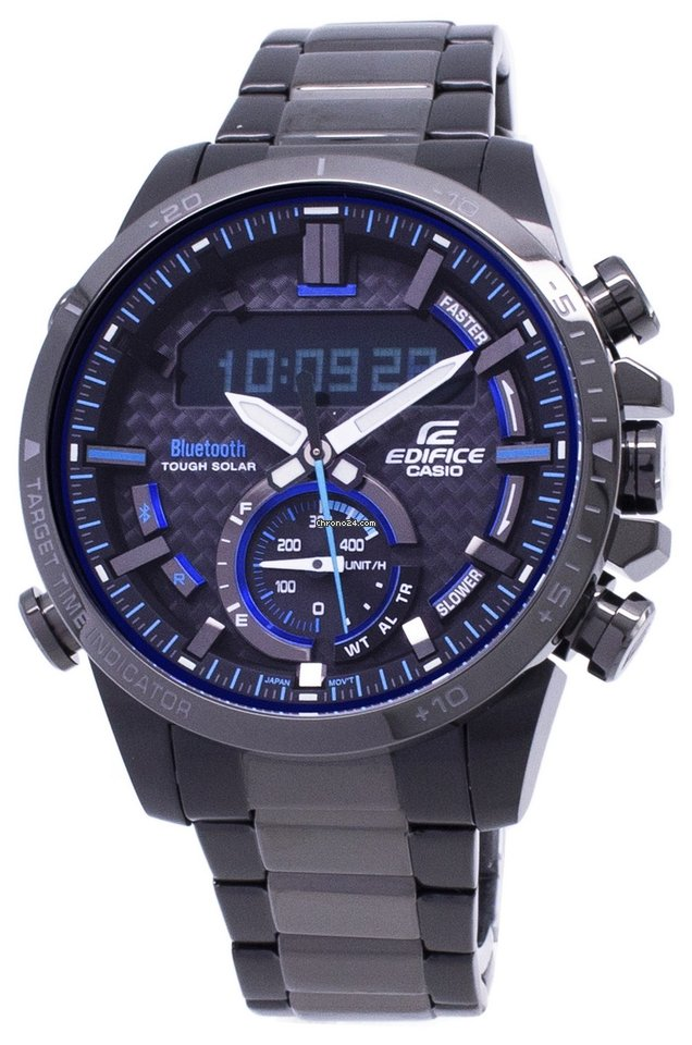Edifice Tough Watch Solar Bluetooth Men's Casio 800dc 1a Ecb 0OknwP