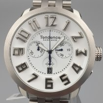 Tendence Steel 51mm Quartz TG470051 new