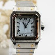 Cartier Santos (submodel) Gold/Stahl 40.7mm Weiß Deutschland, Heinsberg