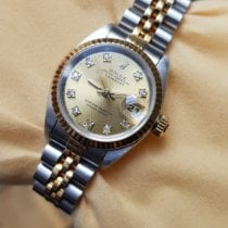 Rolex Lady-Datejust Gold/Steel 26mm Champagne No numerals Singapore, SG