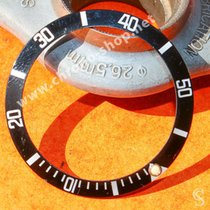 Rolex Sea-Dweller 16600,16660 BEZEL GRADUATED DIVER TRITIUM INSERT fat four 1980 gebraucht