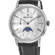 Zenith Elite Ultra Thin new Automatic Watch with original box 03.2320.692/80.C714