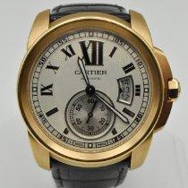 Cartier Calibre de Cartier Rose gold 42mm Silver Roman numerals United States of America, Texas, Houston